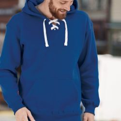 8830 Adult Sport Lace Hooded Sweatshirt Thumbnail